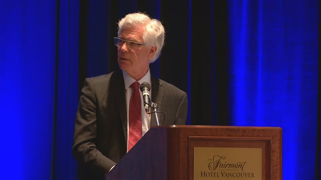 Le ministre fédéral des Ressources naturelles, Jim Carr