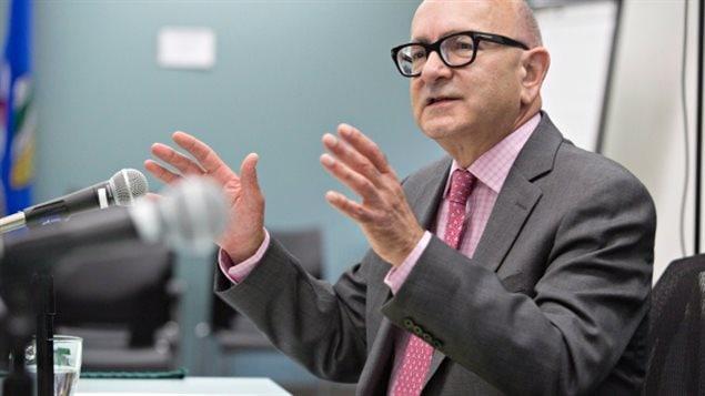Le vérificateur général de l'Alberta Merwan Saher fait 15 recommandations dans son rapport de 2016