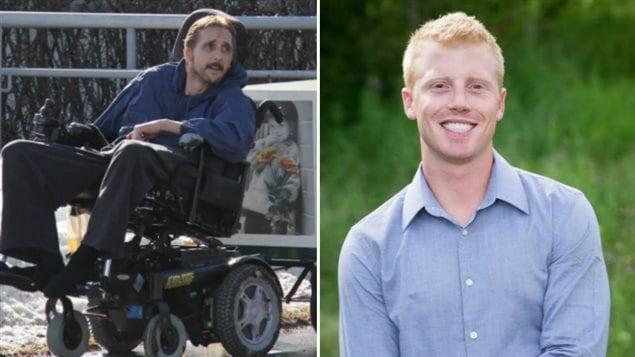 Dave McQueen 53 ans et Anthony Heffernan 27 ans