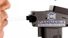 Cannabix Techonologies a développé un prototype pour détecter la présence de THC avec l'haleine.