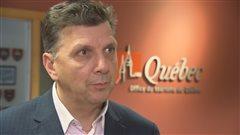 Le directeur de l'Office du tourisme de Québec, André Roy.