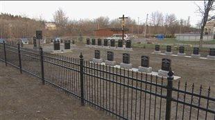 Le nouveau cimetière de la Congrégation des sœurs de Notre-Dame du Bon-Conseil