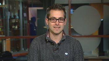 Le responsable politique de l'APTS Côte-Nord, Sylvain Sirois