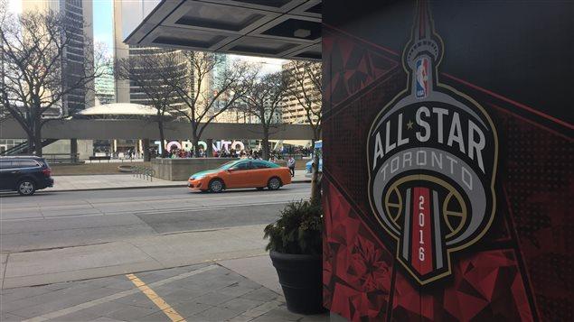 Le match des étoiles de la NBA aura lieu, dimanche, à Toronto.