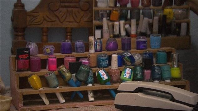 Les vernis à ongles d'Aleida Gonzalez