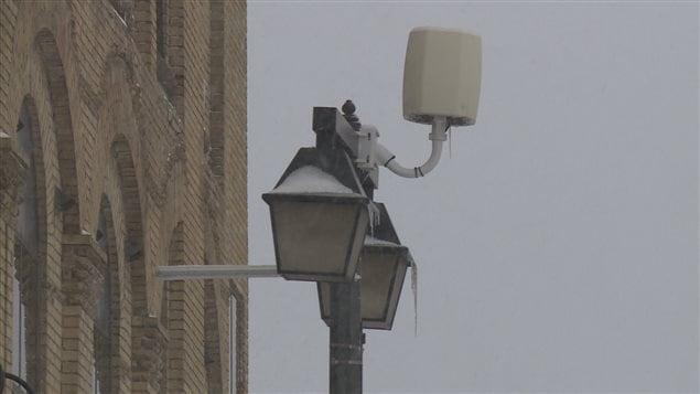 L'avantage de Stratford: des bornes sans fil installées un peu partout à travers la ville.