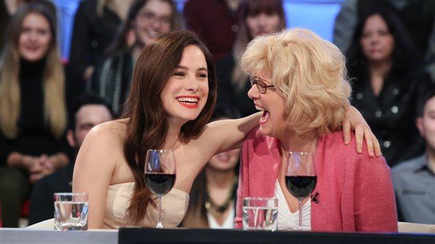 Caroline Dhavernas et Michèle Deslauriers