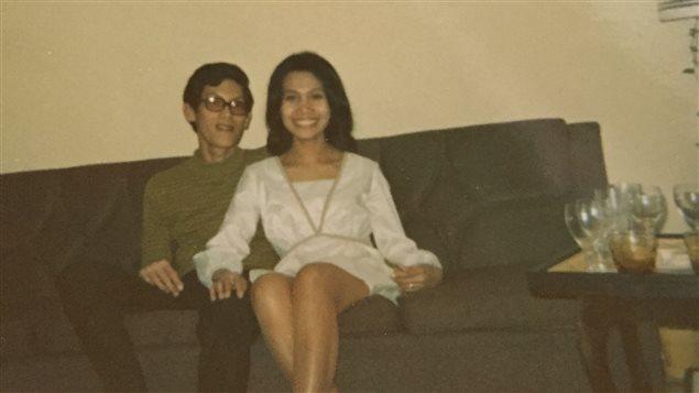 Tomas et Cari en 1967