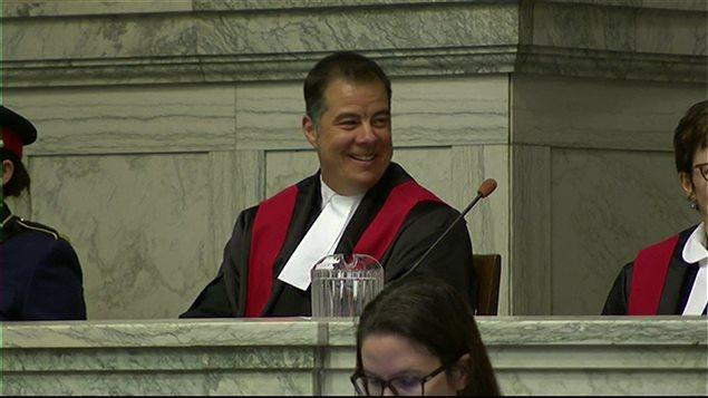 Kael McKenzie, juge à la Cour provinciale du Manitoba
