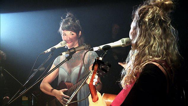 Les soeurs Boulay en concert à La Tulipe à Montréal