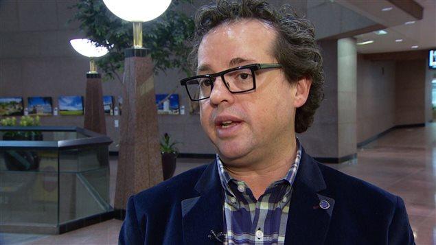 Michael Oshry, conseiller municipal à Edmonton.
