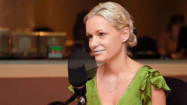 L'auteure Nelly Arcan en septembre 2007