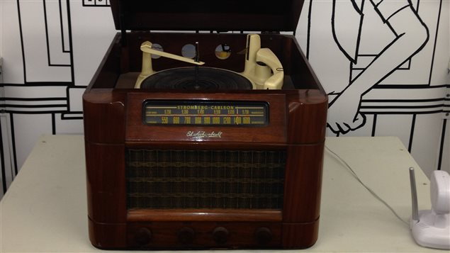 Ancien appareil radio
