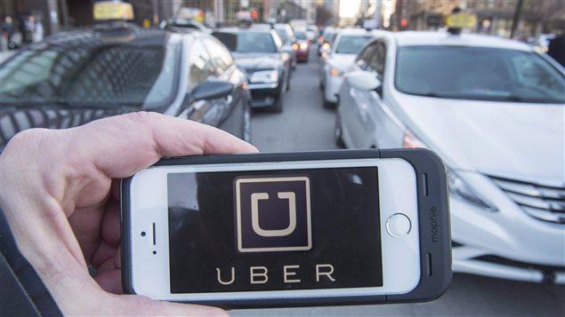 L'application pour téléphones intelligents d'Uber fait fureur à Toronto, notamment.