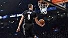 LaVine en met plein la vue au concours d'habiletés de la NBA