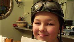 Un garçon déterminé à réaliser son rêve de voler à bord d'un Lancaster