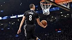 LaVine en met plein la vue au concours d'habiletés de la NBA à Toronto