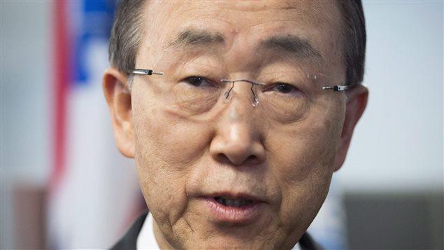 Ban Ki-moon, secrétaire général de l'ONU