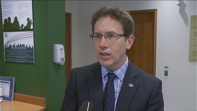 Stéphane Gigère est le gestionnaire de la Société des logements communautaires d'Ottawa.