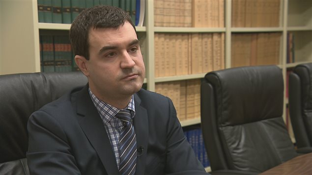Philippe Thibault est avocat à Rimouski