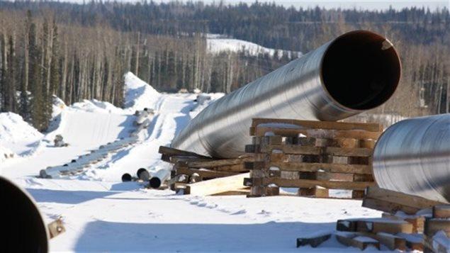Installation d'un pipeline