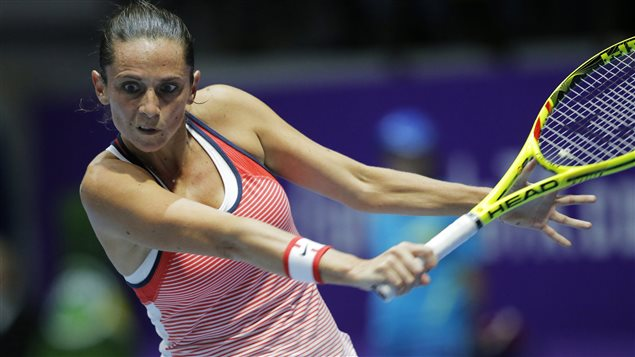 Roberta Vinci gagnante du tournoi de Saint-Pétersbourg