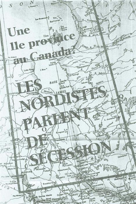 Image parue dans le cahier Perspectives de La Presse, en 1967