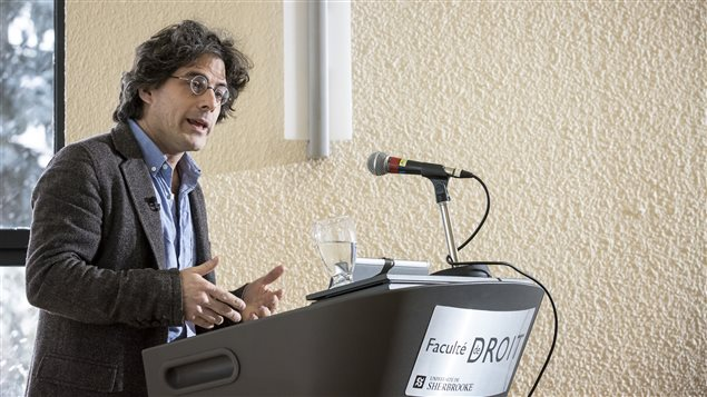 Jean-Philippe Warren en conférence à l'Université de Sherbrooke