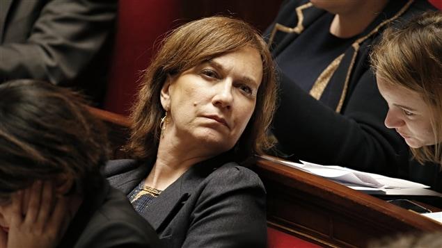 """Laurence Rossignol s'est dite """"secrétaire d'État féministe de la famille et de l'enfance"""", heureuse d'être désormais en charge des droits des femmes."""