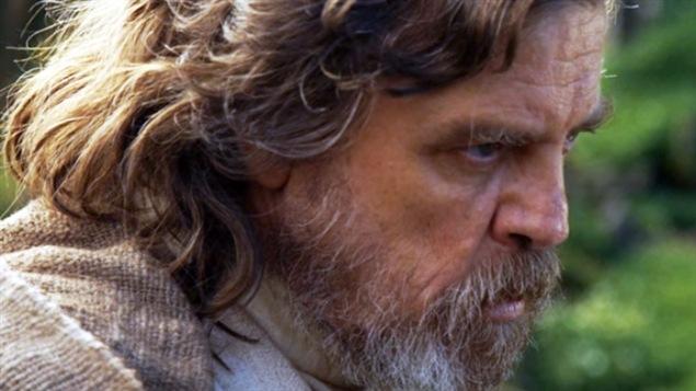 Mark Hamill sur le tournage de « Star Wars VIII »