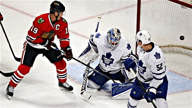 Les Blackhawks ont malmené les Maple Leafs 7-2