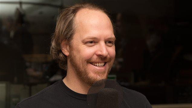 L'auteur et humoriste Fabien Cloutier