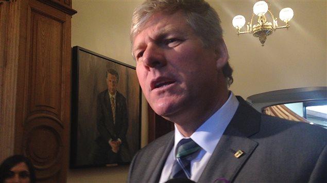 Le ministre de la Sécurité publique du Nouveau-Brunswick, Stephen Horsman