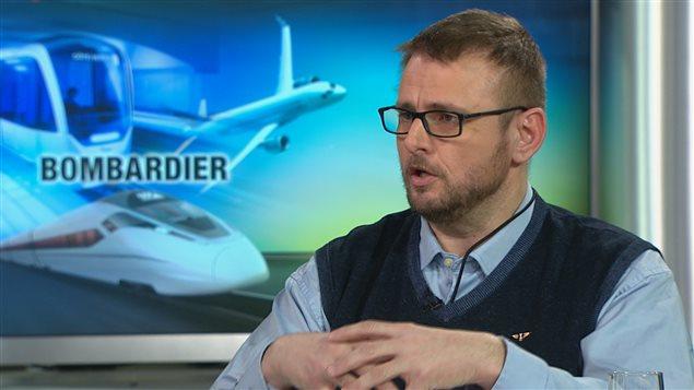 Dave Chartrand, coordonnateur québécois du syndicat des machinistes, en entrevue à RDI (17 février 2016)