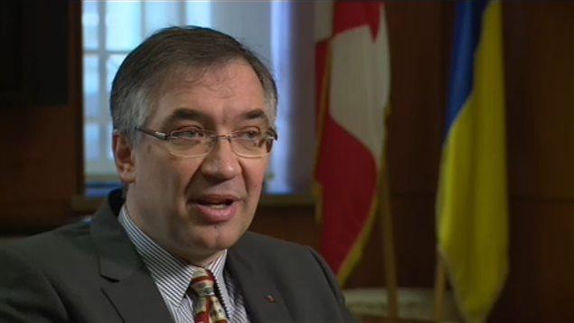 L'ambassadeur du Canada en Ukraine, Roman Waschuk