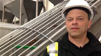 Brian Saulnier est président de l'usine Sea Crest.