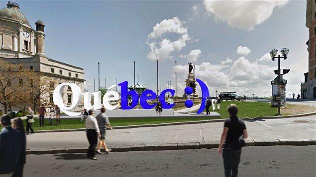 Un entrepreneur de Québec propose d'installer ce monument à Québec.