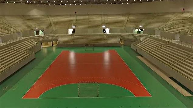 L'intérieur de l'Aréna du futur