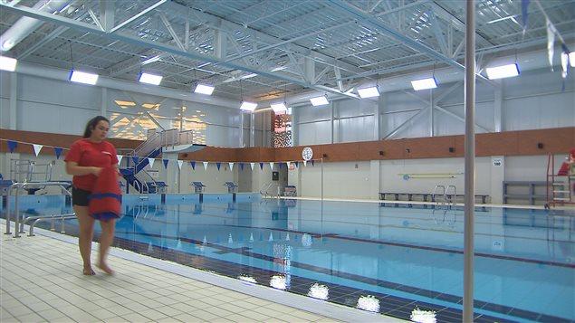 Inauguration de la nouvelle piscine sept les ici for Piscine la madeleine