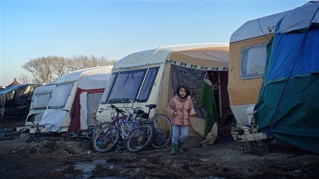 La «Jungle», le camp de migrants au Pas de Calais