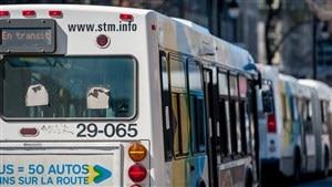 Autobus de la Société de transport de Montréal