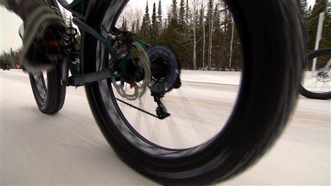Un pneu surdimensionné à crampons peut coûter jusqu'à 300 dollars.
