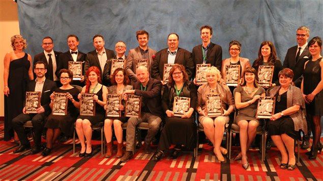 Les lauréats du 31e Gala Radisson, organisé par la Chambre de commerce et d'industries de Trois-Rivières