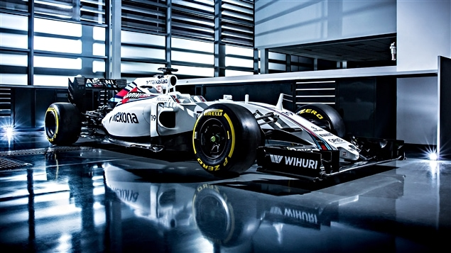 La Williams FW38 de 2016