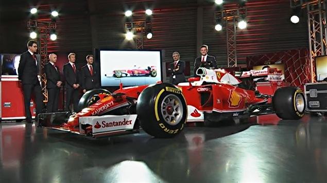 La présentation de la Ferrari SF16H de 2016