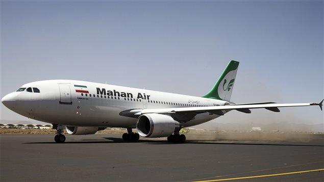 La plus importante compagnie aérienne privée iranienne figure sur une liste noire d'Ottawa.