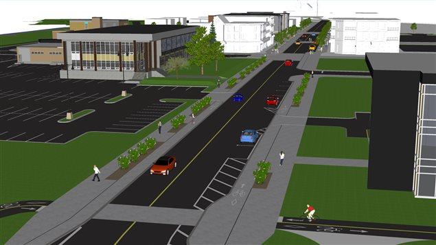 Les plans de la nouvelle rue Frontenac ont été présentés