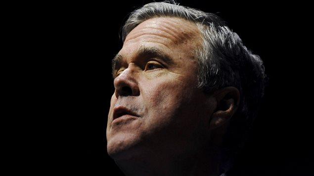 Jeb Bush en campagne à Greenville, en Caroline du Sud, le 19 février 2016.