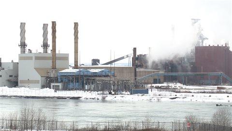 Essar Steel Algoma à Sault-Sainte-Marie