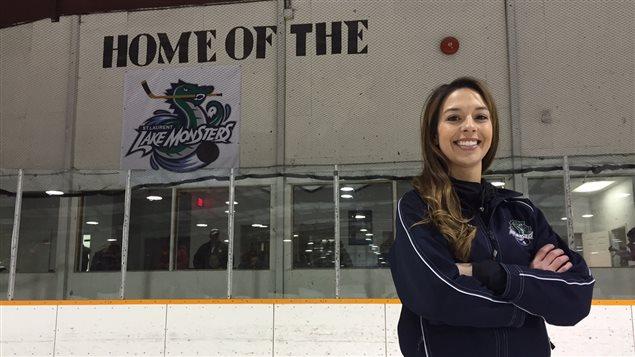 Wendy Scharf a pris la tête du comité qui a défend la candidature du village de Saint-Laurent au concours Kraft Hockeyville 2016.